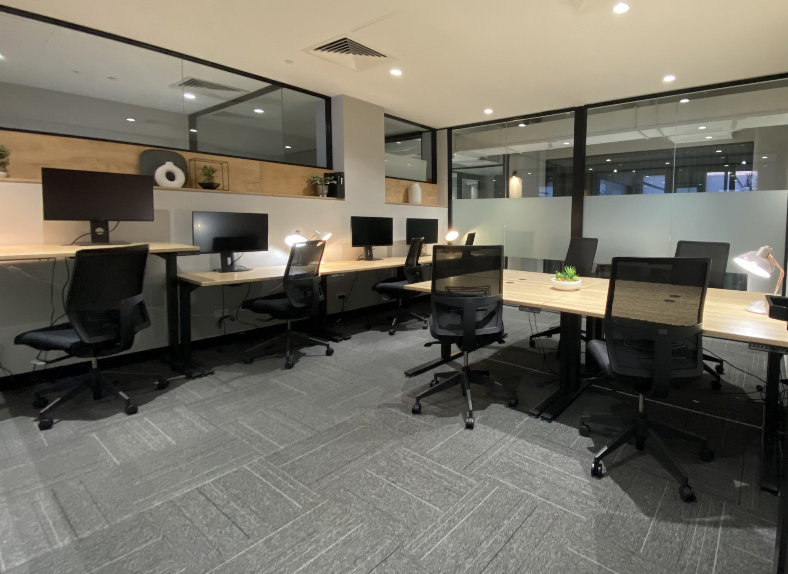 modern office for a day for teamwork and colllboration