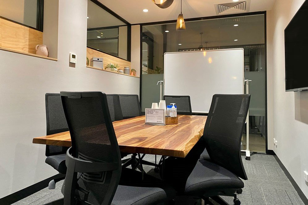 book a small meeting room at united co fitzroy
